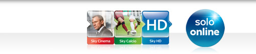 Scegli Sky Cinema e Sky Calcio. In regalo un Home Theatre Samsung
