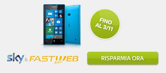 Sky & Fastweb - Risparmia ora